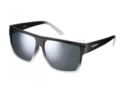 SHIMANO brýle CE-SQRE1MR, půlnoční, skla kouřová stříbrná zrcadlová