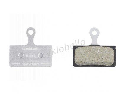 SHIMANO brzdové destičky G03A polymerové MTB