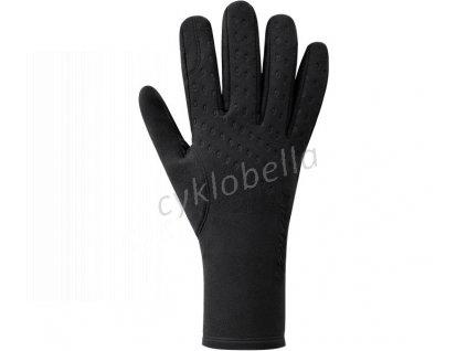 SHIMANO S-PHYRE THERMAL rukavice (5-10°C), černá, M