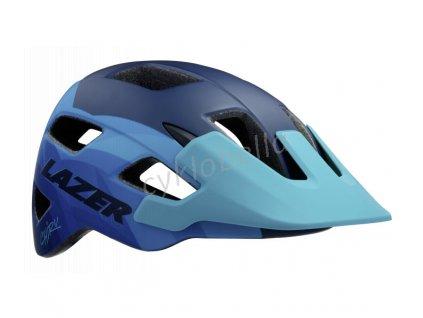 LAZER přilba CHIRU CE/ matná modrá STEEL M