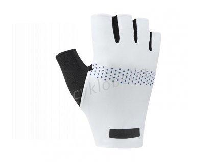 SHIMANO EVOLVE rukavice, bílé, XL