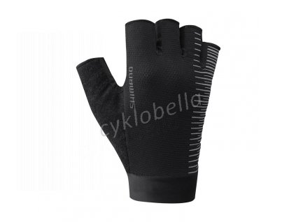 SHIMANO CLASSIC rukavice, černé, M