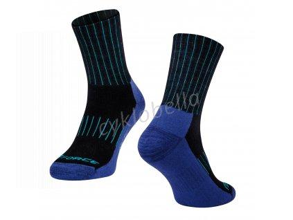 ponožky FORCE ARCTIC, modré L-XL/42-47