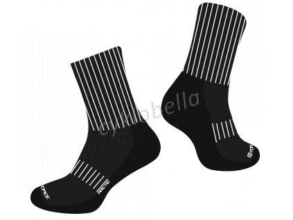 ponožky FORCE ARCTIC, černo-bílé L-XL/42-47