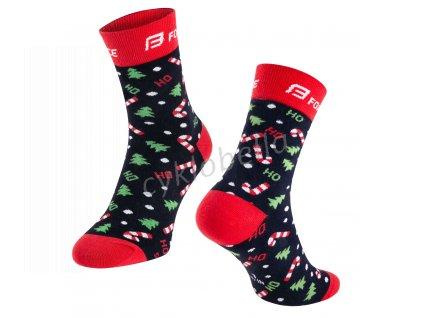 ponožky FORCE X-MAS, L-XL/42-47