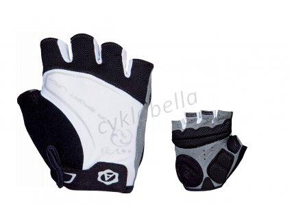 Rukavice Lady Comfort Gel k/p S (bílá/černá)