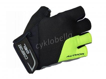 Rukavice Men Comfort Gel X6 k/p XL (žlutá-neonová/černá)