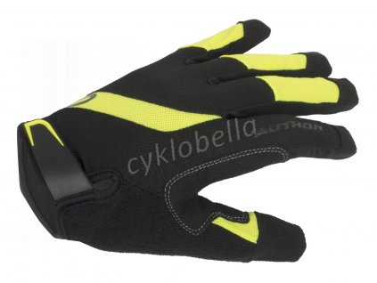 Rukavice Men SingleT X5 d/p XL (černá/žlutá-neonová)