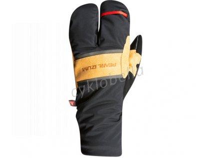 PEARL iZUMi AMFIB LOBSTER rukavice, černá/DARK TAN, XXL