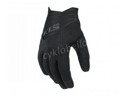 Rukavice KLS Cutout long black M