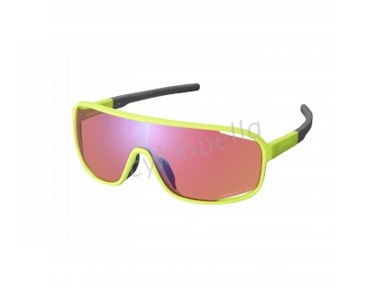 SHIMANO brýle TECHNIUM, neonově žlutá, ridescape off-road
