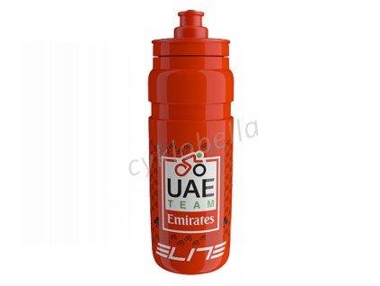 Láhev ELITE Fly Teams 0,75l - UAE Emirates-červená