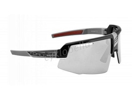 brýle FORCE IGNITE, černo-šedé, fotochrom. skla