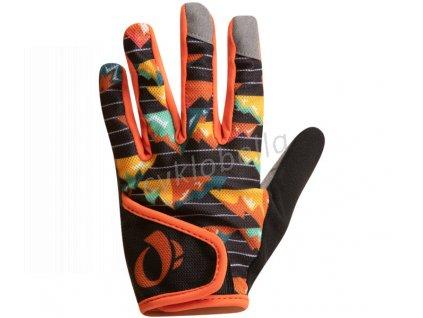 PEARL iZUMi JUNIOR MTB rukavice, APRES oranžová S