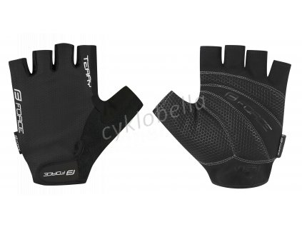 rukavice FORCE TERRY, černé L