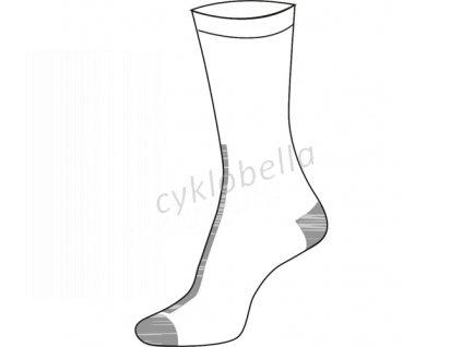 Cyklistické ponožky Nera