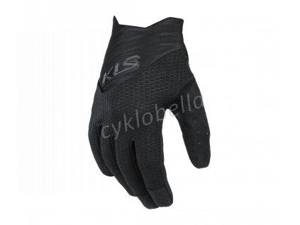 Rukavice KLS Cutout long black L