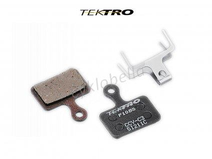 Brzdové destičky TK-F10BS - R510/310 (2ks)  (černá)