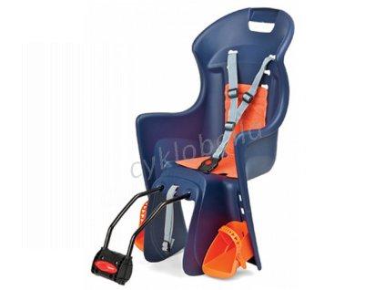 Dětská sedačka POLISPORT Boodie - modro-oranžová