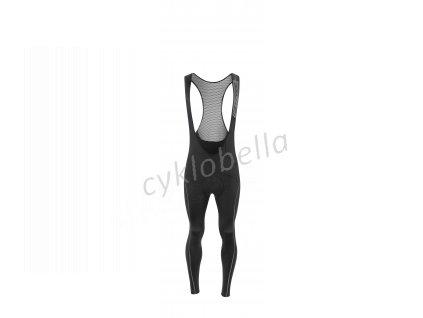 kalhoty F REFLEX LINE KID s vložkou,černé 128-140