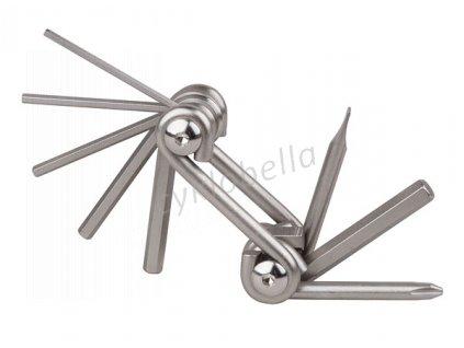 Nářadí PRO-T 8 funkcí stříbrné