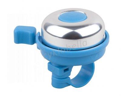 Zvonek PRO-T Color - stříbrno-modrá