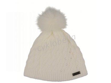 Zimní čepice Relax PLATA bílá RKH72F