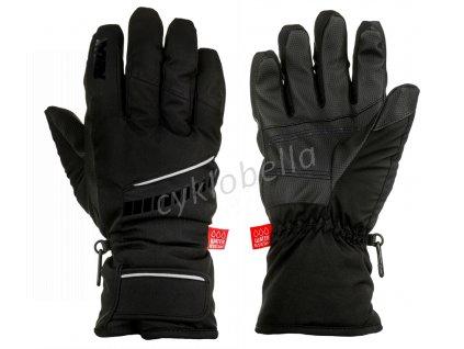 Lyžařské rukavice DOWN RR12D