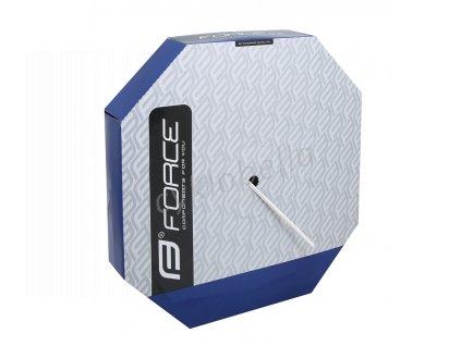 bowden brzdový FORCE 5mm, bílý 50m BOX