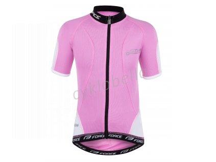 dres dětský FORCE KID STAR růžový 154-164 cm