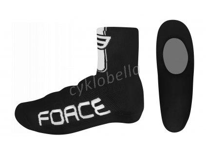 návleky treter FORCE pletené, černé L - XL