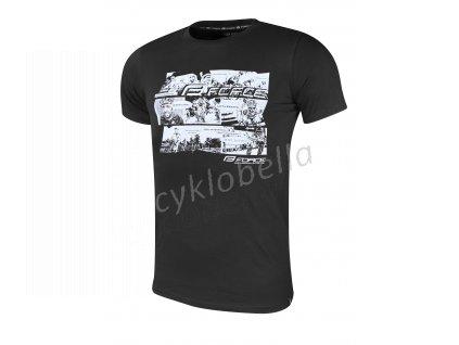 triko FORCE COOL COMICS krátký rukáv,černé XXXL