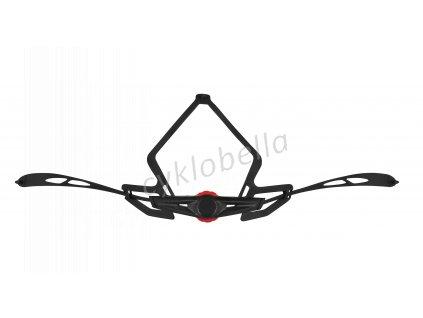 kolečko utahovací pro přilbu F BULL,černo-červené