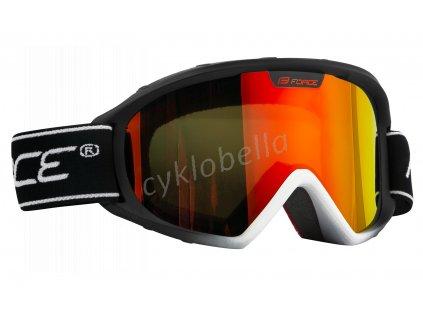 brýle FORCE SKI SWITCH černé, multilaser sklo