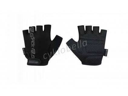 rukavice FORCE KID dětské, černé M