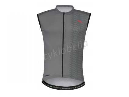 dres FORCE CIPHER bez rukávů, šedý XL