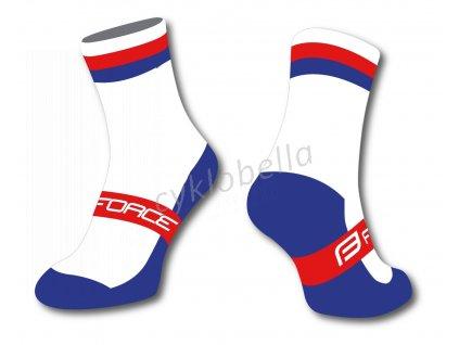 ponožky FORCE FLAG ČESKO, S-M/36-41