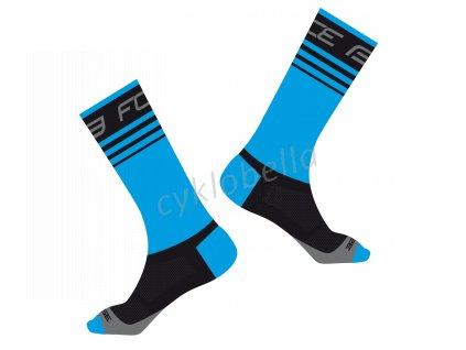 ponožky FORCE STAGE, modro-černé L-XL/42-46