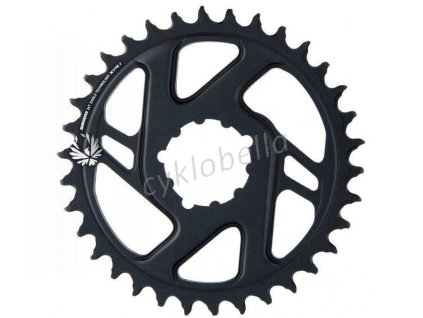 SRAM CR X-SYNC EAGLE CF 34T DM 3 OFF B BLK