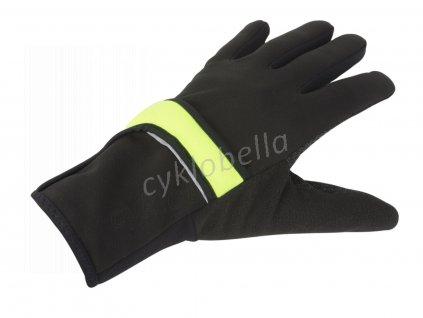 Rukavice Windster Shell X7 XL (černá/žlutá-neonová)