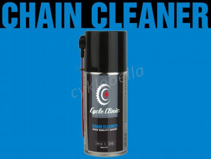 Čistič Cycle Clinic Chain Cleaner aerosol 150 ml (černá)