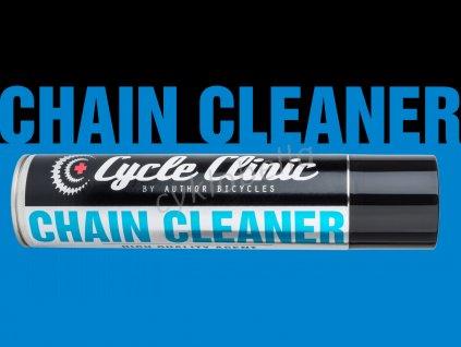 Čistič Cycle Clinic Chain Cleaner aerosol 400 ml  (černá)
