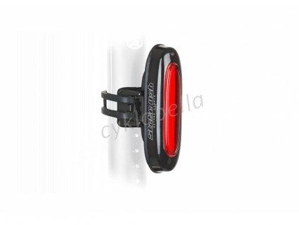 Světlo zad. A-Stake USB 40lm  (černá/čiré-sklo)