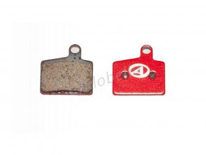 Brzdové destičky ABS-44 Hayes Stroker Ryde  (červená)