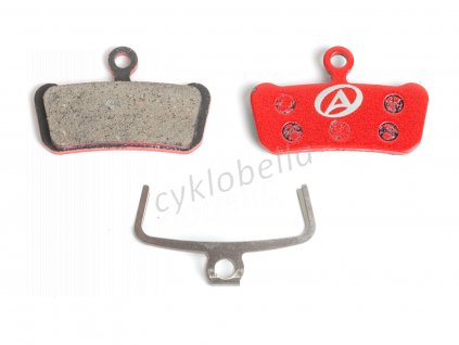 Brzdové destičky ABS-67 Avid Guide  (červená)