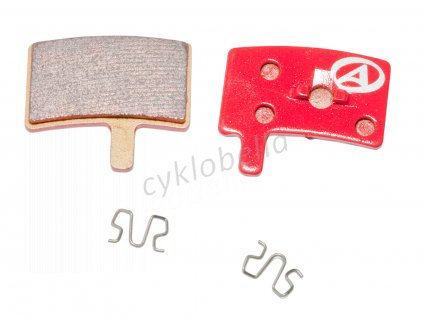 Brzdové destičky ABS-45S Hayes Stroker Trial  (červená)