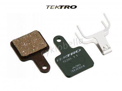Brzdové destičky TK-S20.11 - Volans (2ks)  (zelená)