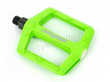 Pedál APD-F13-NYLON (zelená-neonová)