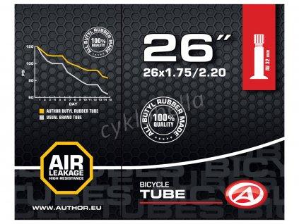 "Duše AT-MTB-26"" AV32 26X1.75/2.20 (černá)"