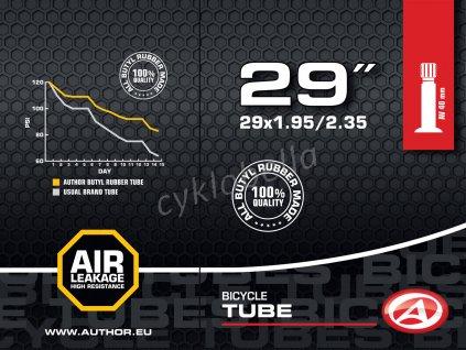 "Duše AT-MTB-29"" AV40 29x1.95/2.35  (černá)"